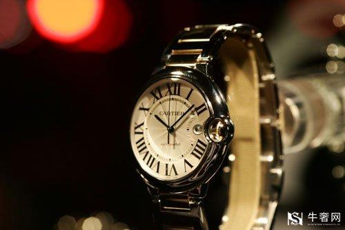 南京卡地亚山度士女式手表回收