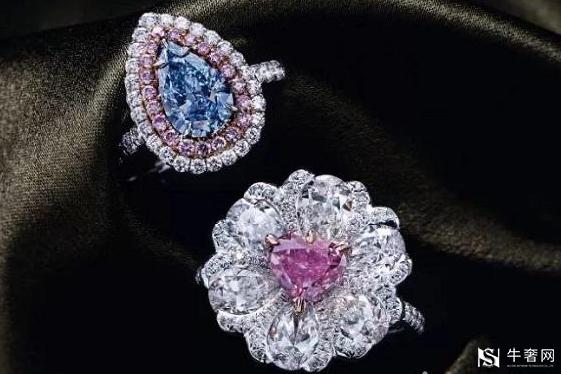 南京粉色钻石戒指回收