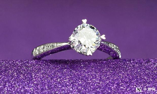 南京卡地亚50分钻石戒指回收