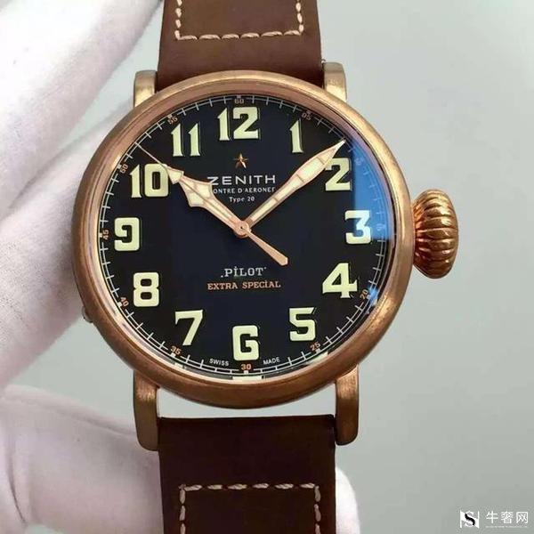 真力时青铜大飞手表回收