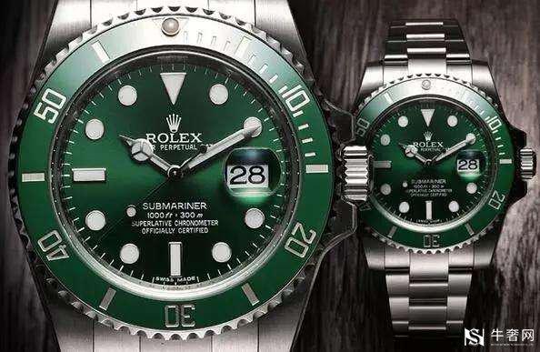 劳力士绿水鬼手表回收