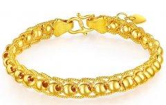南京黄金现在回收多少钱,黄金手链一般多重?