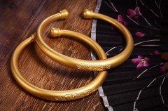 南京今天黄金回收多少钱,黄金手镯风格怎么选?