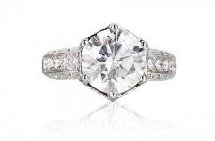 南京钻石戒指怎么回收,结婚戒指买多重的好?