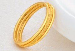 南京哪里回收黄金首饰,黄金手镯怎么量尺寸?
